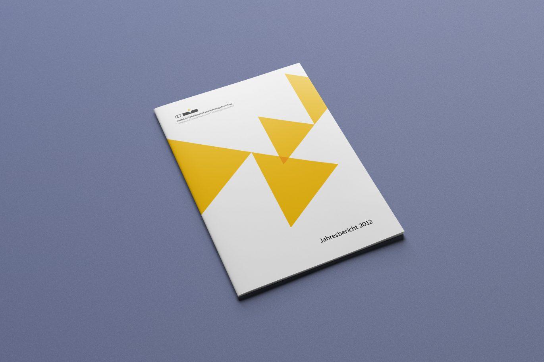 Gestaltungsprinzip | Cover | Tortendiagramm | Corporate Design | Hausfarbe