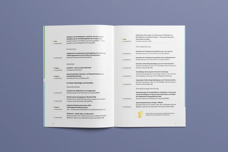 Tabelle | Innenseite | Jahresbericht | Corporate Design | Offline Medium