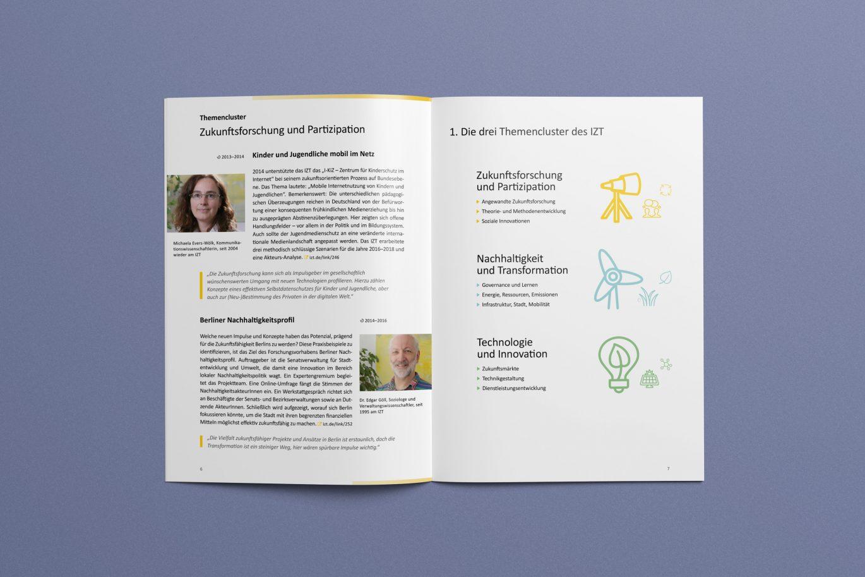 Piktogramme | Gestaltungsprinzipien | Jahresbericht | Corporate Design | Offline Medium
