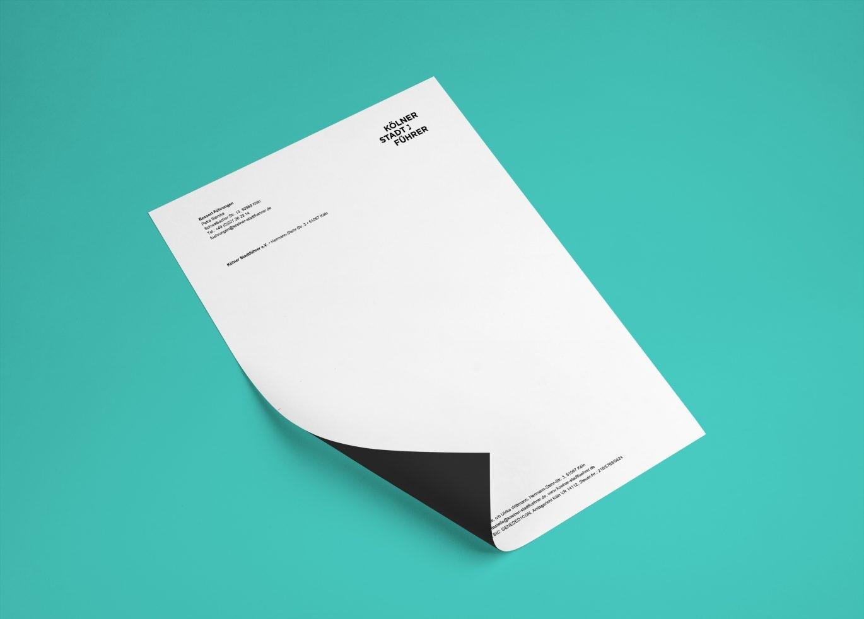 Briefbogen | Geschäftspapiere | Geschäftsausstattung | Corporate Design
