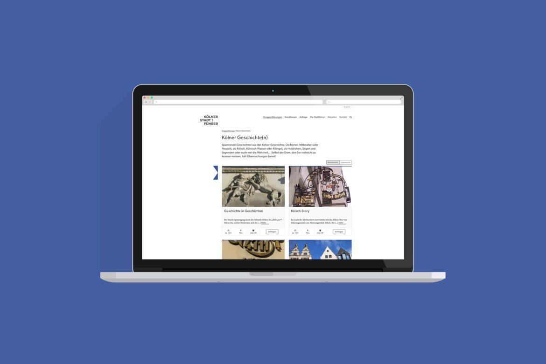 Desktop Ansicht | Responsive Design | Web Design | Corporate Design | Unternehmenserscheinungsbild