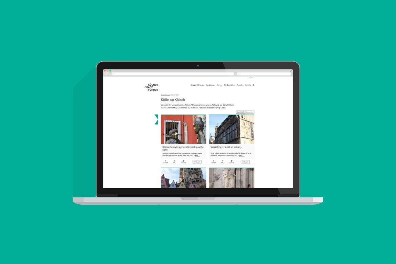 Website Desktop | Responsive Design | Web Design | Gestaltungsprinzip