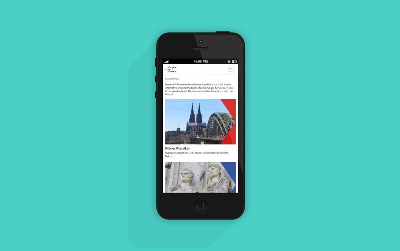 Website Mobil | Responsive Design | Web Design | Corporate Design | Unternehmenserscheinungsbild