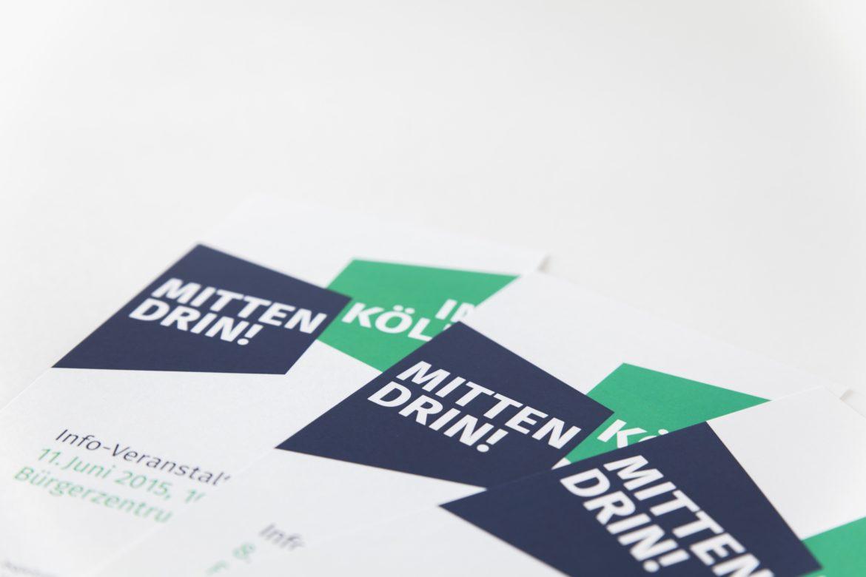 Karte Vorderseite | Flyer | Wort- und Bildmarke | Farbpsychologie