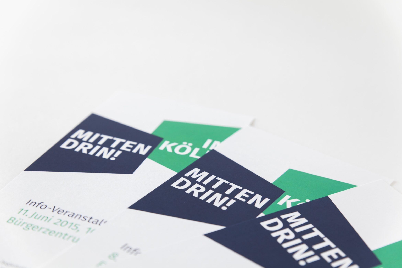 Mittendrin! In Köln. –Corporate Design