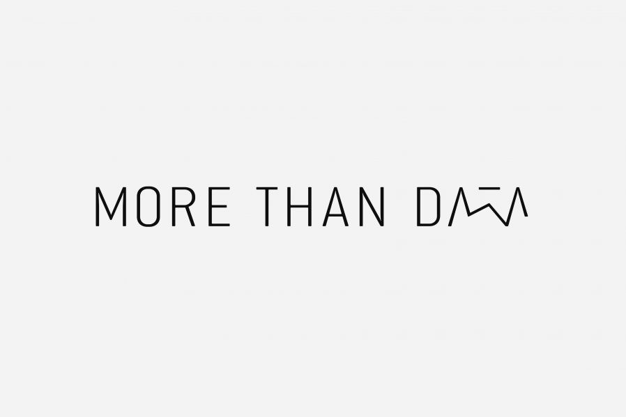 more than data -