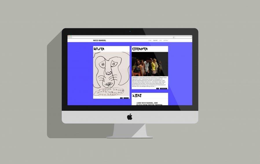 Webseiten Design | Responsive Design | Portfolio-Archiv | Künstler | Digital Design