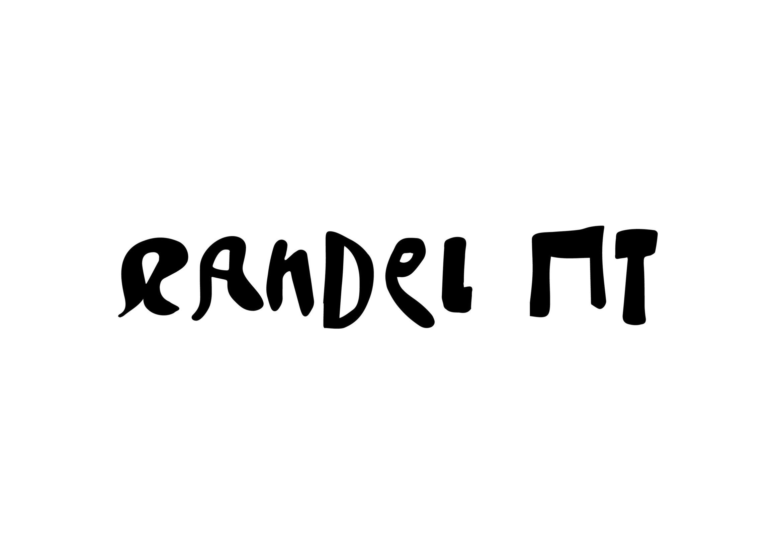 Randel Schrift   Typeface   Typografie Design   Schriftgestaltung   Künstler