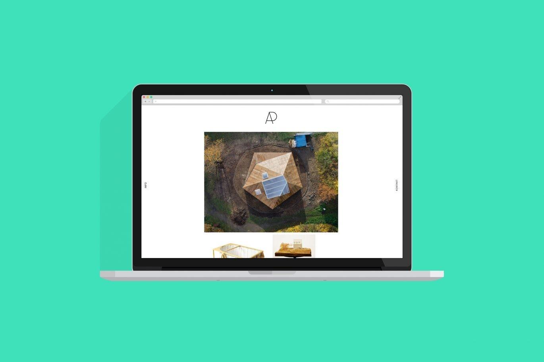 Desktop Ansicht | Webdesign | Architektur | Portfolio