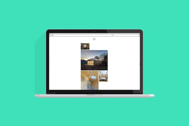 Desktop Ansicht | Website | Architektur | Portfolio