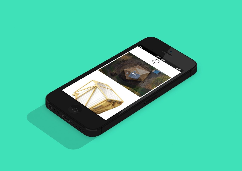Mobilansicht | Webdesign | Architektur | Mobil