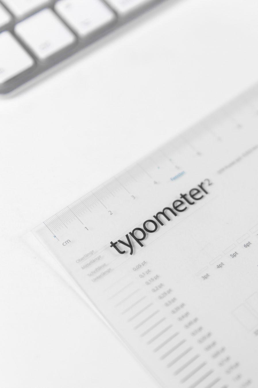 Typometer | typografischen Maßstab | Mikrotypografie