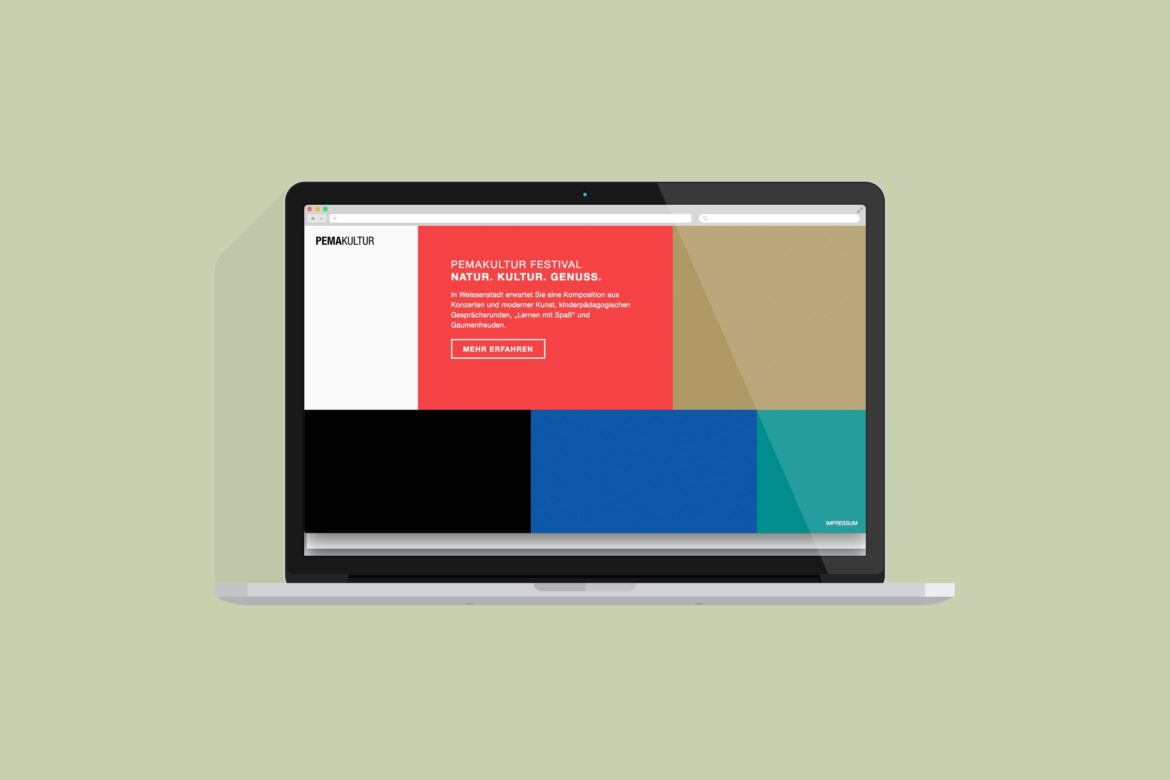 Desktop Ansicht | Responsive Website | Web Design | Micro-Website