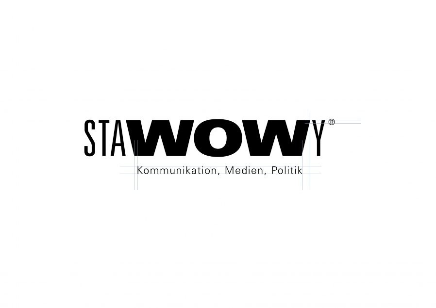 Wortmarke Aufbau | Konstruktion | Logo Design | Agentur und Verlag