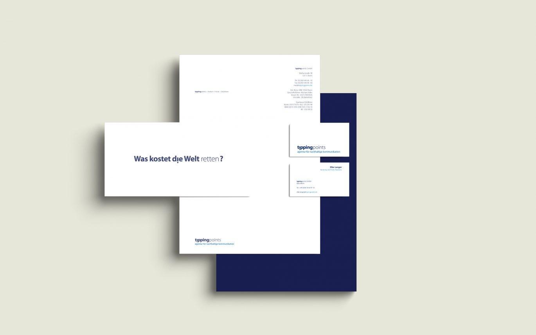 Corporate Design | Geschäftsausstattung | Unternehmenspapiere | Briefbogen | Visitenkarte