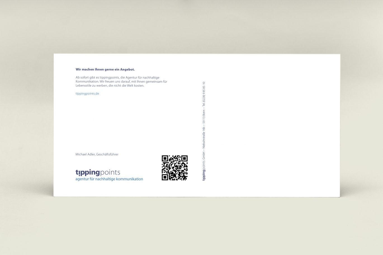 DIN Lang Karte | Kick-off Mailing | Corporate Design | Geschäftsausstattung
