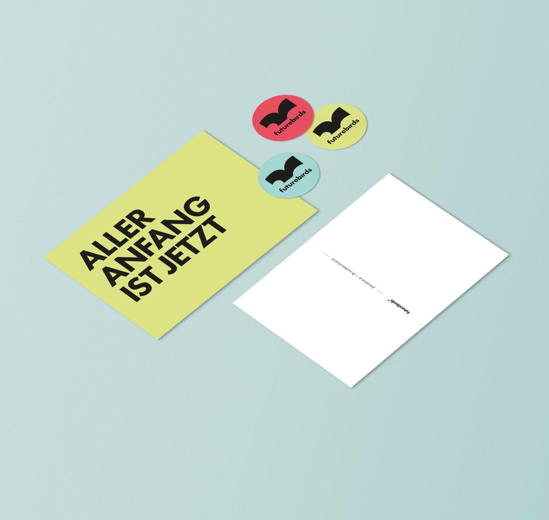 Sticker | Postkarten | Give away | Sammelkarten